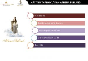 Thông Tin Dự Án Athena Fulland